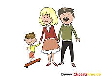 Aile resmiのクリップアート
