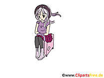 Anime Cartoonbild, Clipart, Comic, Grafik zum Download