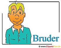 Bruder Bild-Clipart free - Menschen Cliparts