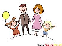 クリップアート家族画像、イラスト、グラフィック