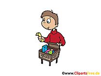 Einkaufen, Einkaufsliste, Einkaufswagen Bilder, Cliparts, Illustrationen