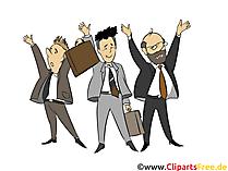 Erfolg, Business - Menschen, Menschenbilder, Cliparts Menschen
