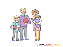 Familie Illustrationen und Clip-Art