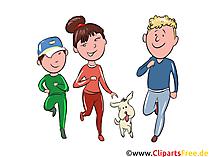 家族はスポーツのクリップアート、イラスト、絵をやっています。