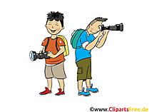 Fotograf, Fotografieren - Menschen, Menschenbilder, Cliparts Menschen