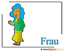 Frau Clipart free