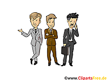 Geschäftsleute Clipart - Menschen, Menschenbilder, Cliparts Menschen