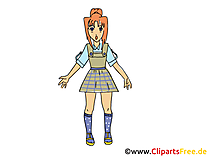 Manga Clipart, Comic, Cartoon, Grafik umsonst