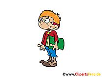 Student Bild, Clipart, Illustration, Grafik, Zeichnung kostenlos
