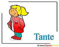 Tante Clipart Frau