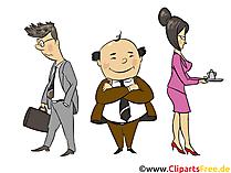 Team, Kollektiv, Abteilung - Menschen, Menschenbilder, Cliparts Menschen