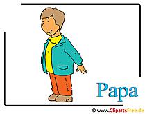 お父さん画像 - クリップアート無料 - 親画像