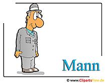 Vater Clipart-Bild Mann