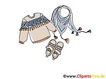 Clipart mantel kostenlos