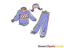 Bekleidung Clipart, Bild, Illustration, Grafik,  Image kostenlos