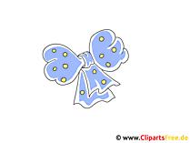 Haarschleife Clipart