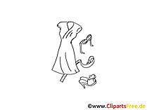 Italienische Mode Damen Clipart, Bild, Illustration, Grafik,  Image kostenlos
