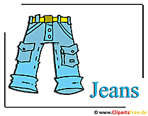 Cliparts free Jeans, Hose