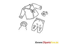 Kinderkleidung Clipart, Bild, Illustration, Grafik,  Image kostenlos