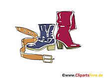 Lederschuhe Clipart, Bild, Illustration, Grafik,  Image kostenlos