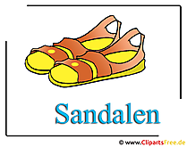Sandals Clipart gratis download