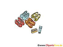Schuhe Clipart, Bild, Illustration, Grafik,  Image kostenlos