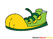 Sneakers Bild, Clipart, Zeichnung, Illustration, Comic gratis