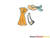Sommer Kleid Clipart, Bild, Illustration, Grafik,  Image kostenlos