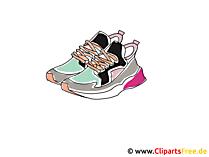 Sportschoenen clipart