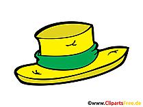 麦わら帽子のイメージ、クリップアート、デッサン、イラスト、コミック無料