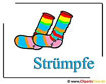 Strümpfe Clipart free Mode