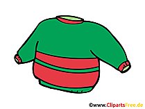 Sweater Bild, Clipart, Zeichnung, Illustration, Comic gratis