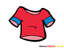 T-Shirt Bild, Clipart, Zeichnung, Illustration, Comic gratis