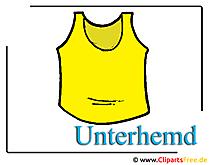 Unterhemd  Clipart free Mode