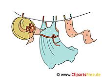 Wäsche Cliparts