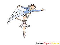 Clipart di balletto, foto, fumetti