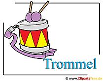 Clipart Musikinstrumente Trommel