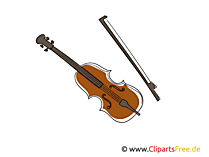 Geige Bild, Clipart, Grafik gratis