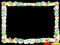 Fotoğraf ve resimler için çiçek çerçeve