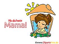 Anneler Günü için dijital kartpostallar