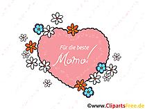 Anneler Günü için tebrik kartları