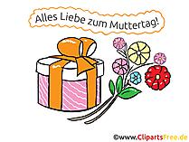 Anneler Günü hediyesi - tebrik kartı, resim, eCard