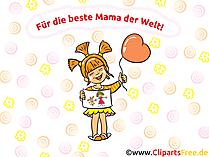 Anneler günü için anneme doğum günü kartı
