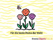 Anneler Günü için tebrik kartları çevrimiçi