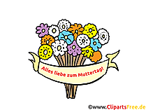 Moederdag wenskaart - Happy Mother's Day