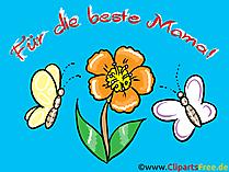 Mutlu anneler günü hediye kartı
