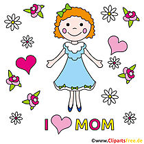 Anneler Günü için ücretsiz E-tebrik kartları