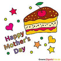 Anneler Günü için Pasta