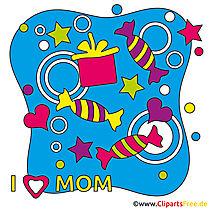 Anneler günü clipart