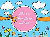 Anneler Günü tebrik kartları, resimler, clipart